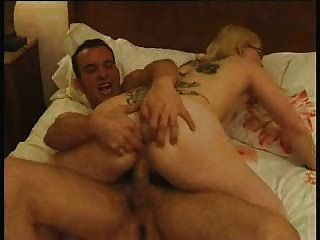 French Anal Tatoo Blonde Hardcore