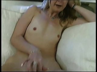 Blonde Slut With Flat Chest Gets Her Juicy Shaved Cunt Fucked By Stud Indoors