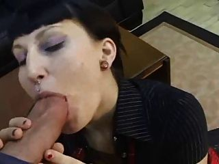 Punk Rock Girl Fucked Hard