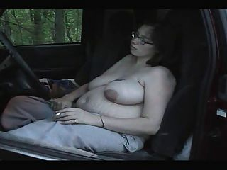 Smoking Fetish - Chubby Pregnant Smoking
