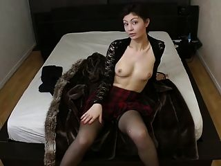 Cute Milf Ruby Fucked In Stockings
