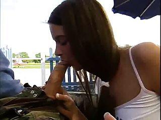 Leonie Saint Fucked On Airfield