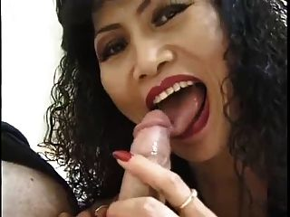 Asian, Mature & Blowjob: Rosie Rocket