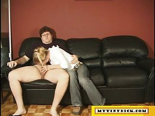 Chubby Guy With Small Cock Gets Fucked