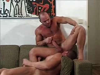 Two Versatile Guys Does Real Bareback Male Sex.