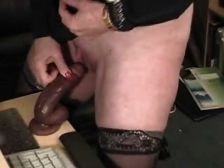 Watch My Pervert Mom Playing At Computer. Stolen Video