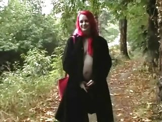 Exhibitionist Pregnant Girl