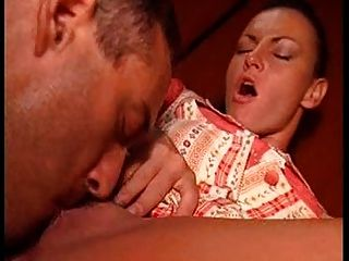 Slut Girlfriend Of Cowboy! She Loves To Be Fucked Especially In The Ass...
