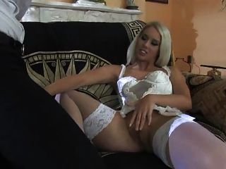 Very Hot Blonde Sex