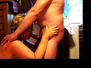 Wife Giving A Friend A Blow Job
