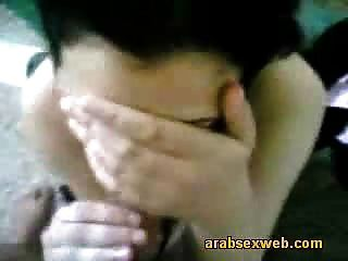 Shy Arab Girl Giving Head-asw039