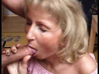 Mature Blonde Loves Cum On Face!