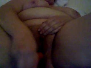 Chubby Girl Masturbating Hairy Pussy