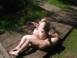 Fatty Girl Anal Outdoor
