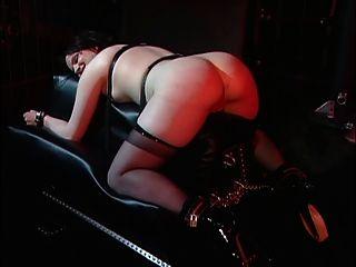 Horny Mistress Enjoying With Her Slave Girl