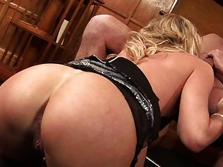 British Blonde Slut Paige Gets Fucked Up The Arse