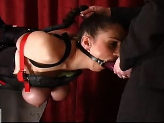 Slavegirl Double Fucked By 2 Mistresses