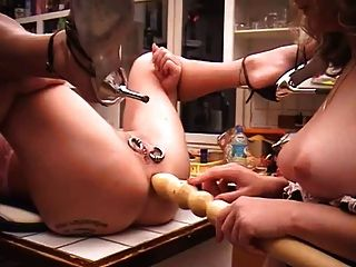 I Am Pierced - Heavy Pierced And Tattooed Slave With Pussy R
