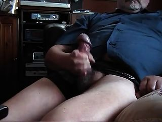 Old Fat Man Jerking 2