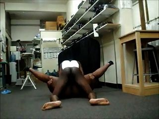 Cleaners Employees Fucking At Work - Black Bbw