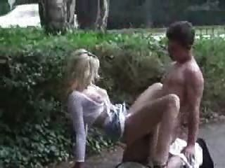 Hot Blond Getting Fucked At A Parking Lot By Snahbrandy