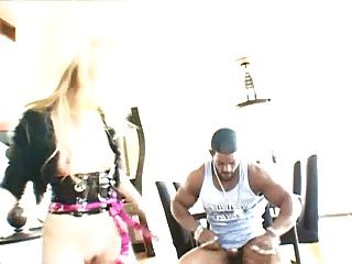 Bbc Brian Pumper Drilling All Holes Of Hot Blond Slut.