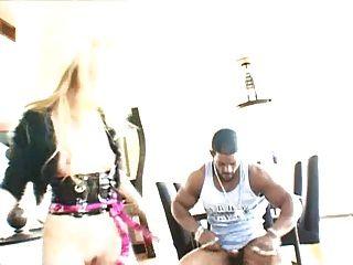 Bbc Brian Pumper Drilling All Holes Of Hot Blond Slut.