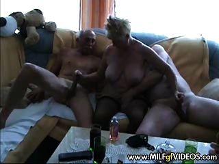 Granny Milf Orgy Action Granny Gang Bang