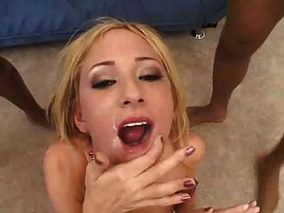Cute Blonde That Loves Black Cum