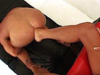 Goddess Foot Fucks Slave
