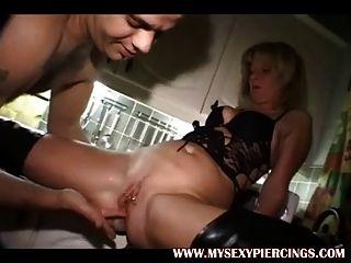 Pierced Milf Anal Fuck Fest Mature Mom