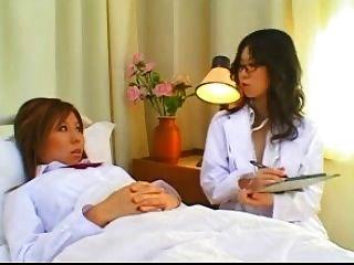Japanese Lesbian Nurses Anal Exam