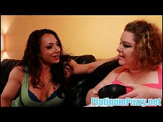 Feed Into The Fatty Starring Body Builder Brandi Mae