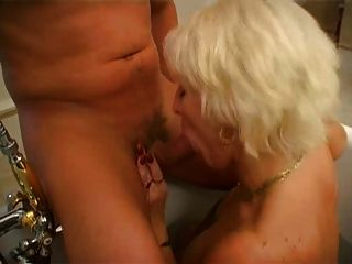 Mama Irina Works A Young Cock