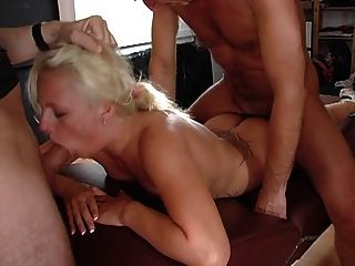 Blonde Slut Used