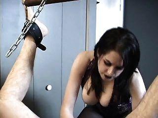 Goddess Tortures Gimp