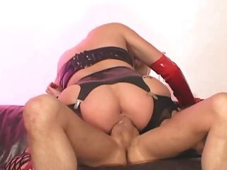 Anal In Latex And Lingerie