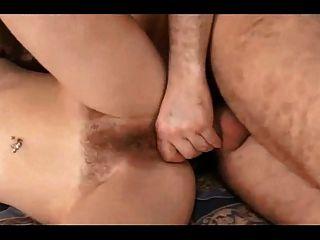 Hairy Pussy. Fuck & Cream Pie 1