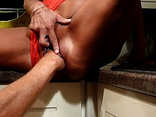 Milf Fisting Session In Kitchen-l1390-