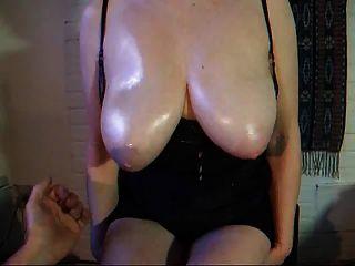 Amateur Tit Slapping