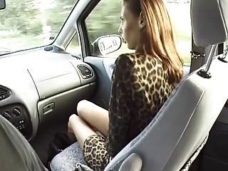 Hitch Hiker Girl Pays With Rimmjob And Blowjob