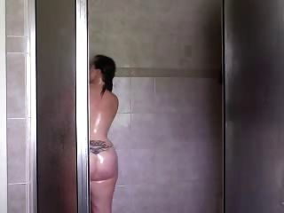 Fat Ass Milf Shower