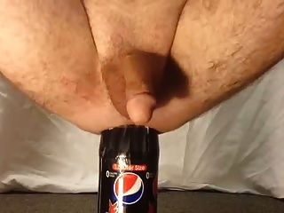 1.5 Liter Bottle Male Anal Insertion
