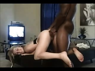 Amateur Curvy Blonde Hooks Up With Black Stud