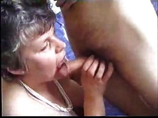 Granny Sucks And Fucks With Student
