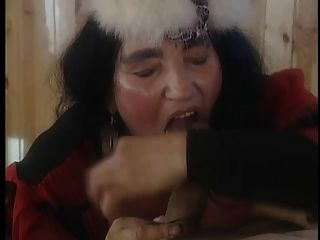 Mature Big Titted Hairy Beast Runs The Fuckshow