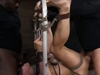 Bdsm 2 Dicks 1 Chick Bondage Fuck...kyd