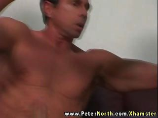 Cute Babe In Red Fucked By Peter North