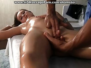 Oiled Body Massage And Fucking