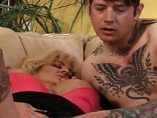 Busty Milf Lexi Carrington & A Tatooed Guy